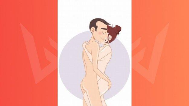 Поза для секса Танец: полюби большой размер партнера фото